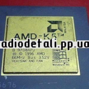 AMD K5 с желтой крышкой.