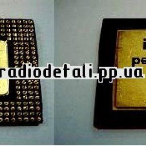 Pentium 1 или подобный с желтыми дном и крышкой.